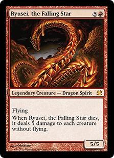 《降る星、流星/Ryusei, the Falling Star》[MMA] 赤R