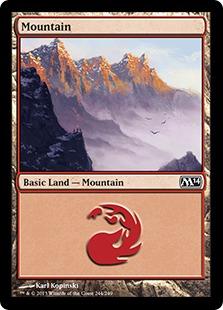 《山/Mountain》(244)[M14] 土地