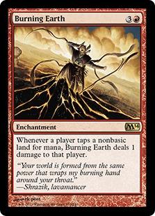 《燃え立つ大地/Burning Earth》[M14] 赤R