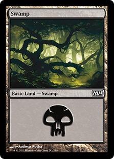 《沼/Swamp》(241)[M14] 土地