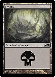 《沼/Swamp》(238)[M14] 土地