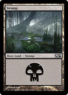 《沼/Swamp》(240)[M14] 土地