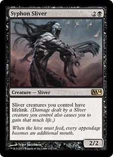 《吸管スリヴァー/Syphon Sliver》[M14] 黒R