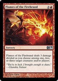 《炬火の炎/Flames of the Firebrand》[M14] 赤U