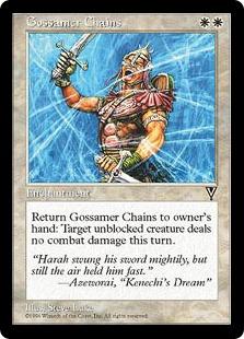 《霊糸の鎖/Gossamer Chains》[VIS] 白C