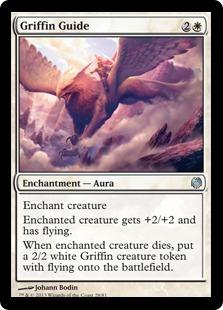 《グリフィンの導き/Griffin Guide》[HvM] 白U