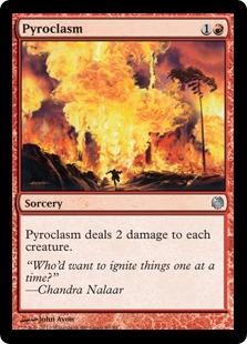 《紅蓮地獄/Pyroclasm》[HvM] 赤U