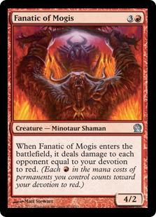 《モーギスの狂信者/Fanatic of Mogis》[THS] 赤U