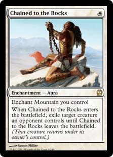 《岩への繋ぎ止め/Chained to the Rocks》[THS] 白R