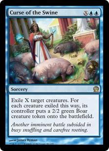 《豚の呪い/Curse of the Swine》[THS] 青R