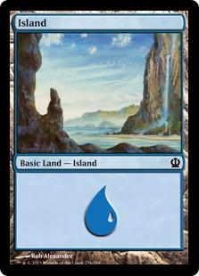 《島/Island》(234)[THS] 土地