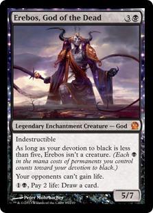 《死者の神、エレボス/Erebos, God of the Dead》[THS] 黒R