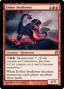 《燃えさし呑み/Ember Swallower》[THS] 赤R