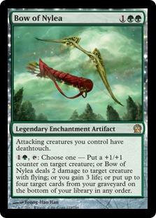 《ナイレアの弓/Bow of Nylea》[THS] 緑R