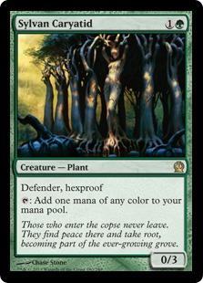 《森の女人像/Sylvan Caryatid》[THS] 緑R