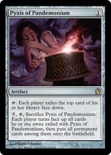 《伏魔殿のピュクシス/Pyxis of Pandemonium》[THS] 茶R