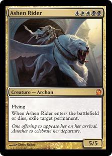 《灰燼の乗り手/Ashen Rider》[THS] 金R
