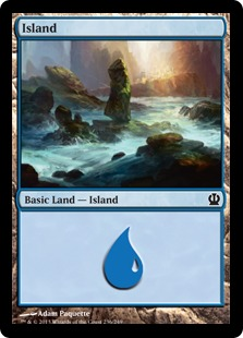 《島/Island》(236)[THS] 土地