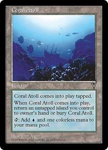 《珊瑚礁/Coral Atoll》[VIS] 土地U