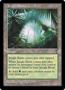 《ジャングルの盆地/Jungle Basin》[VIS] 土地U