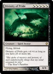 《名誉の御身/Divinity of Pride》[C13] 混R