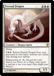 《永遠のドラゴン/Eternal Dragon》[C13] 白R