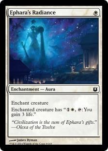 《エファラの輝き/Ephara's Radiance》[BNG] 白C