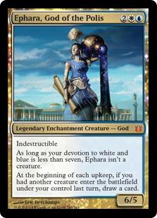 《都市国家の神、エファラ/Ephara, God of the Polis》[BNG] 金R
