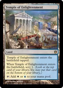 《啓蒙の神殿/Temple of Enlightenment》[BNG] 土地R