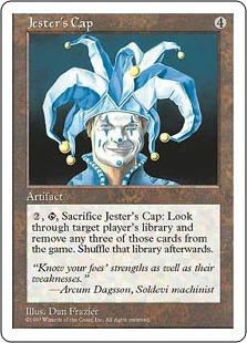 《道化の帽子/Jester's Cap》[5ED] 茶R