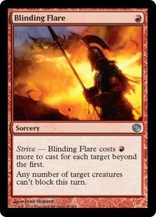 《眩しい炎/Blinding Flare》[JOU] 赤U