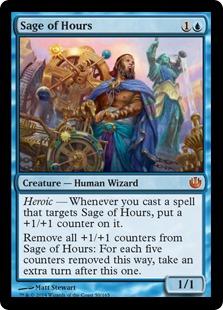 《時の賢者/Sage of Hours》[JOU] 青R