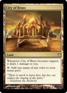《真鍮の都/City of Brass》[MED14] 土地R