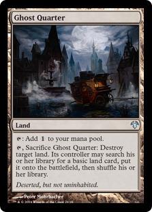 《幽霊街/Ghost Quarter》[MED14] 土地U