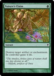 《自然の要求/Nature's Claim》[CNS] 緑C