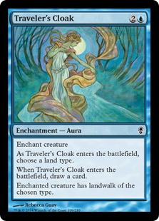 《旅人の外套/Traveler's Cloak》[CNS] 青C