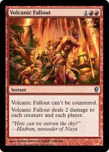 《火山の流弾/Volcanic Fallout》[CNS] 赤U