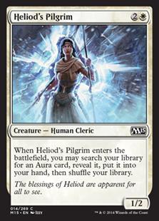 【Foil】《ヘリオッドの巡礼者/Heliod's Pilgrim》[M15] 白C