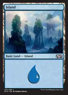《島/Island》(257)[M15] 土地