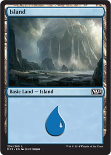 《島/Island》(254)[M15] 土地