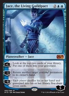 《ギルドパクトの体現者、ジェイス/Jace, the Living Guildpact》[M15] 青R