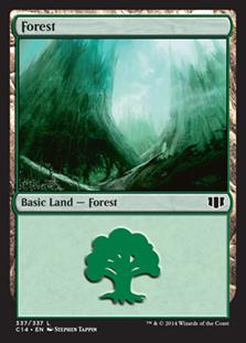 《森/Forest》(337)[C14] 土地