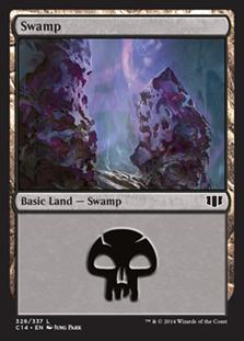 《沼/Swamp》(328)[C14] 土地