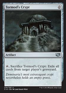《トーモッドの墓所/Tormod's Crypt》[C14] 茶U