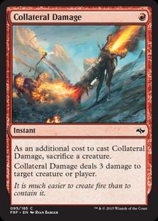 《巻き添え被害/Collateral Damage》[FRF] 赤C