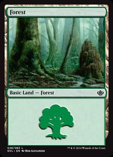 《森/Forest》(28)[DD3・GvL] 土地