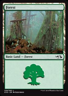 《森/Forest》(28)[DD3・EvG] 土地