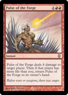 《溶鉱炉の脈動/Pulse of the Forge》[DST] 赤R