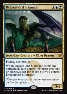 《龍王シルムガル/Dragonlord Silumgar》[DTK] 金R