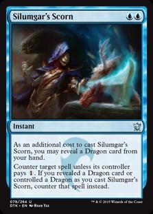 《シルムガルの嘲笑/Silumgar's Scorn》[DTK] 青U